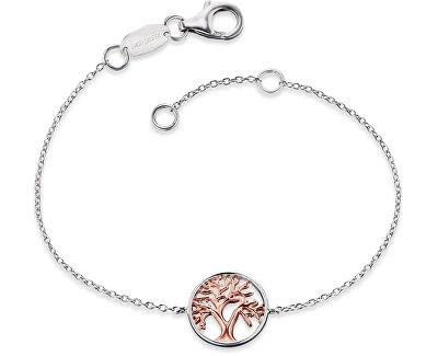 Stříbrný náramek Strom života ERB-LILTREE-BI