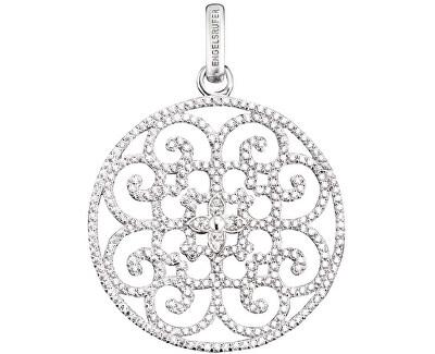 Stříbrný přívěsek Ornament se zirkony ERP-ORNA-01-ZI