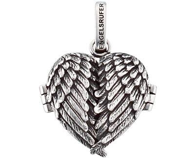 Stříbrný přívěsek Srdce z andělských křídel ERP-ME-WING-1