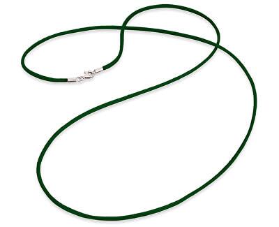 Zelená saténová šňůrka ERN-60-SI-04