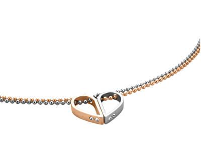 Dvojitý zamilovaný náhrdelník Passion ESNL00442242