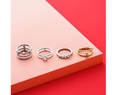 Stříbrný prsten se zirkonem ESRG0010111