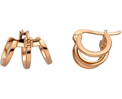 Bronzové náušnice kroužky Iva Creole ESER00161300