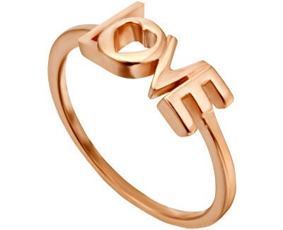 Bronzový prsten Love Amory ESRG0023131