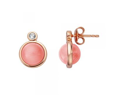 Elegantné náušnice s umelou perlou ESER01071300