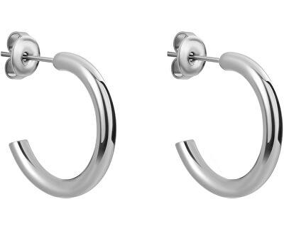 Ocelové náušnice kroužky WE1033S