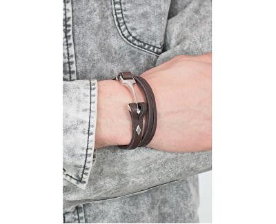 Pánsky kožený náramok 02205040
