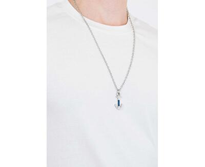 Pánský ocelový náhrdelník s kotvou JF02878040
