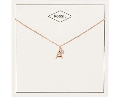 """Bronzový náhrdelník """"A"""" JF03034791"""