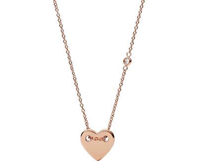 Bronzový náhrdelník se srdíčkem JF02868791
