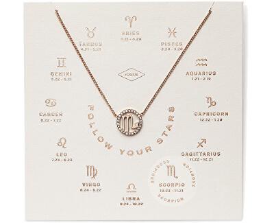 Bronzový náhrdelník Škorpión JF03307791