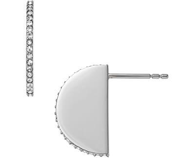 Ocelové náušnice s krystaly JF01834040