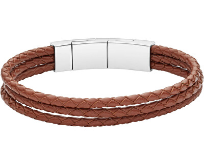 Pánsky kožený náramok JF02683040
