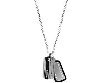Pánský náhrdelník se známkami JF00494998