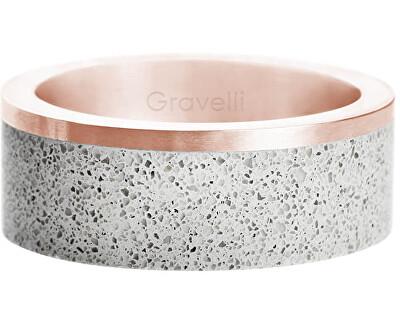 Betonový prsten Edge bronzová/šedá GJRURGG002
