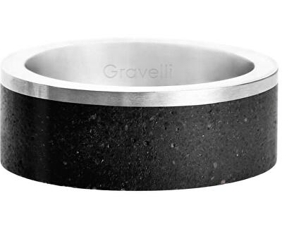 Betonový prsten Edge ocelová/atracitová GJRUSSA002