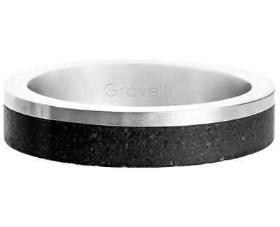 Betónový prsteň Edge Slim oceľová / antracitová GJRUSSA0021