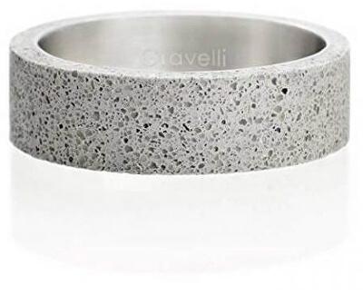 Betónový prsteň šedý Simple GJRWRGA001