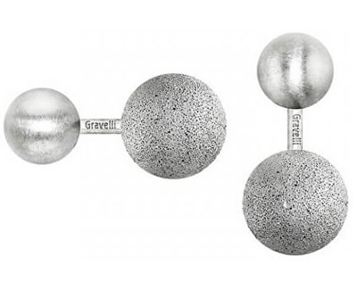 Manžetové knoflíčky z betonu a oceli Beads GJCMSSG001UN