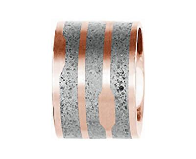 Ocelový přívěsek s betonem bronzová/šedá Flow GJPWRGG104UN