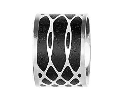 Ocelový přívěsek s betonem ocelová/antracitová Merge GJPWSSA105UN