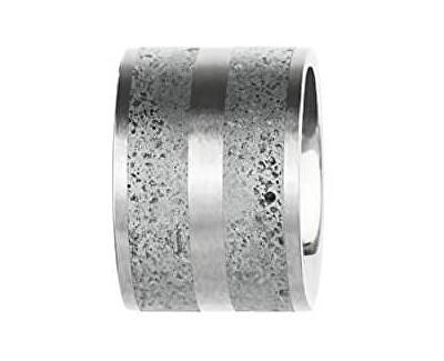 Ocelový přívěsek s betonem ocelová/šedá Fusion GJPWSSG101UN