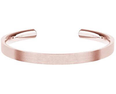 Růžově pozlacený ocelový náramek Precious GJBURGX106UN