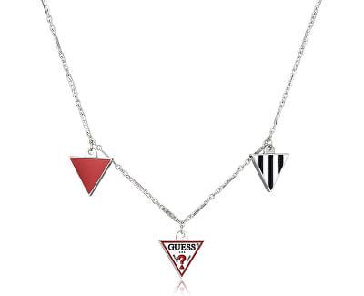 Moderní dámský náhrdelník s přívěsky UBN29062
