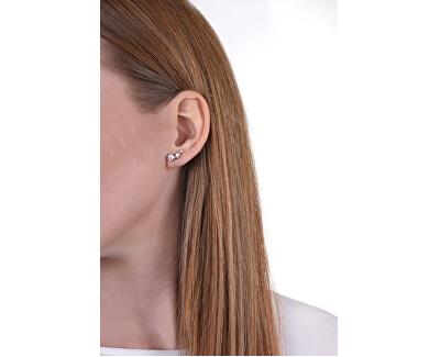 Slušivé náušnice s krystaly UBE84126