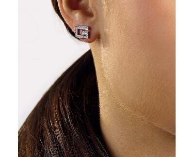 Stylové náušnice s krystaly Swarovski UBE79113