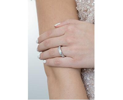 Stylový řetízkový prsten UBR84014