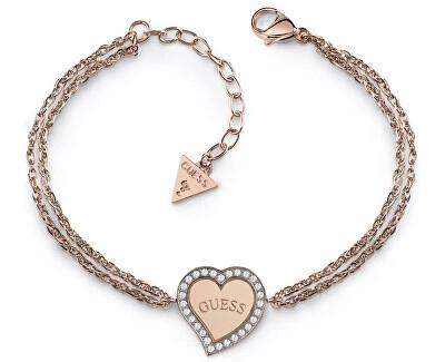 Bronz karkötő szívvel UBB78097-S
