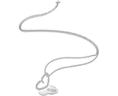 Dlouhý náhrdelník s motýlkem UBN83020