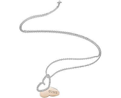 Dlouhý náhrdelník s motýlkem UBN83022