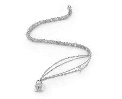 Dlouhý náhrdelník s visacím zámkem UBN85062