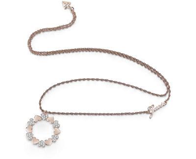 Dlouhý náhrdelník se srdíčkovým přívěskem UBN85049