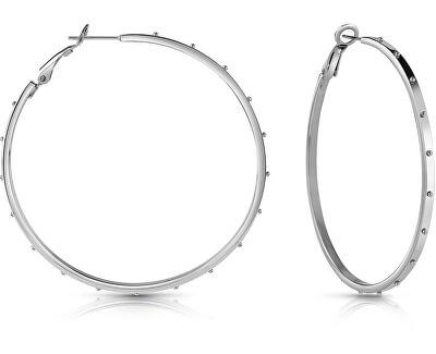 Kruhové ocelové náušnice UBE28086