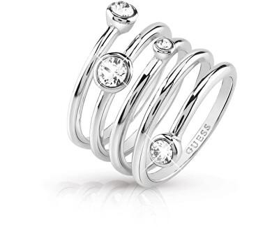 Luxusní spirálovitý prsten UBR84055