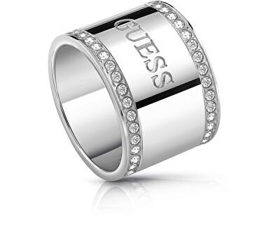 Masívní prsten s krystaly UBR28020