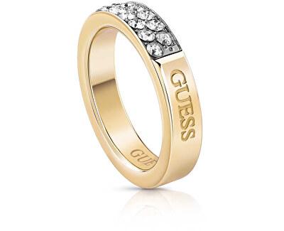 Módní prsten s krystaly UBR78020