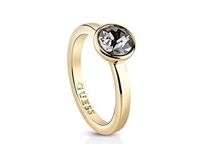Guess Inel de aur placat la femei UBR83018