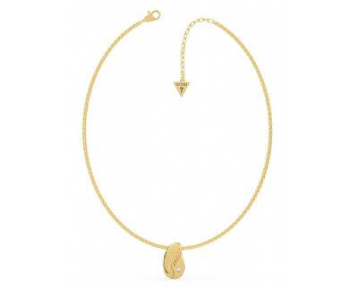 Pozlacený náhrdelník s přívěskem UBN79097