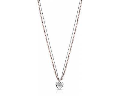 Romantický náhrdelník se srdíčkem UBN78077