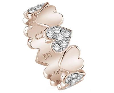 Romantický prsten Heart Bouquet UBR85025