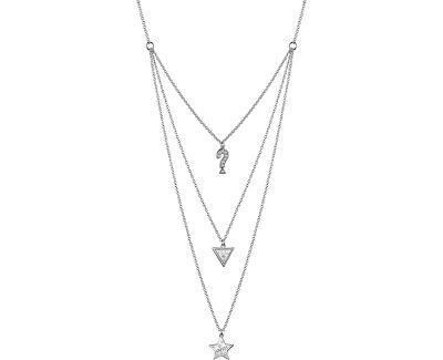 Stylový náhrdelník s přívěsky UBN83065
