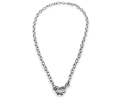 Guess Zamilovaný ocelový náhrdelník USN80911