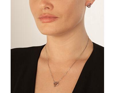 Překrásný náhrdelník Hot Diamonds Love DP660 (řetízek, přívěsek)