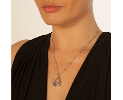 Elementy z topazů, ametystů a citrínu Hot Diamonds Anais AG005