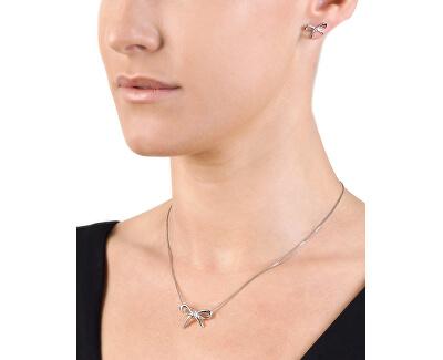 Stříbrný náhrdelník Flourish DP471