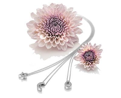 Stříbrný náhrdelník se slzičkou Micro Bliss DP695 (řetízek, přívěsek)